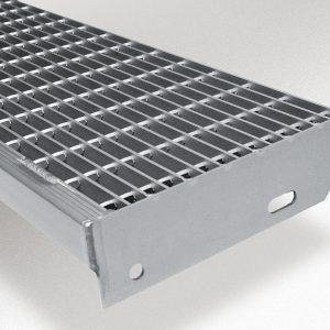 [2565-03] Gitterrostsufe aus Aluminium