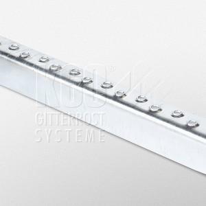 Antrittskante für Gitterroste und Stufen (35 / 55 / 70 mm) Stahl roh oder verzinkt