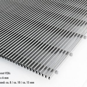 [2563-05] Längsstabgitterroste aus Edelstahl