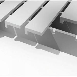 [2575-04] DLS mit L-Profil, Abstand 8-10 mm