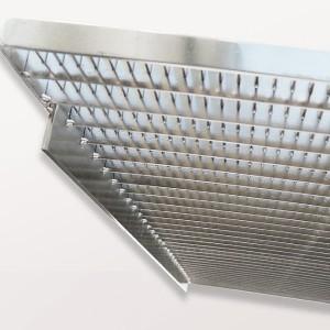 [2563-04] Edelstahlrost e-poliert