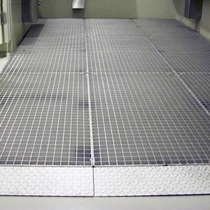 [2563-03] Edelstahlroste als Doppelboden