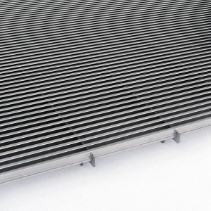 [2579-07] Längsstabrost in Edelstahl
