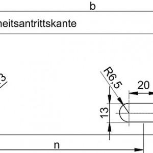 [2620-05] Lochbild für Fluchttreppen-Stufe