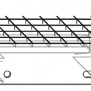 [2620-06] Fluchttreppen-Stufe Spannweite 3000 mm[2620-0] Fluchttreppen-Stufe Spannweite bis 3000 mm