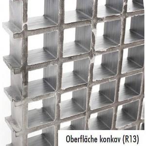 [2569-09] GFK-Gitterroste konkav R13