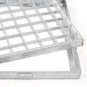 [1356-01] Gitterroste mit Rahmen