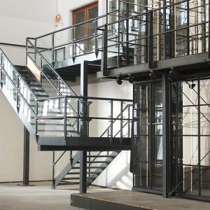 [2549-03] Treppenanlage mit Gitterrost-Stufen