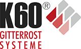 K60 Gitterroste aus Edelstahl | Normroste oder Sonderanfertigung Logo