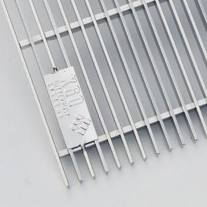 [2579-05] Eingangsrote V2A e-poliert