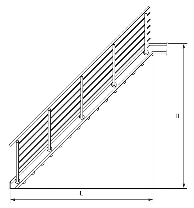 Treppen System Bausatz K60 Gitterroste Aus Edelstahl Normroste