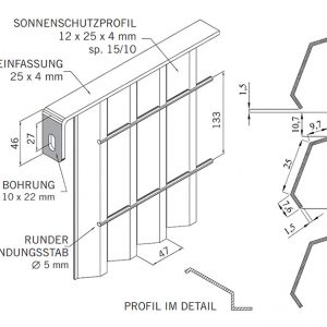 [5362-06] Zaunanlagensystem Jalou Typ 2