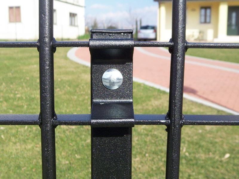 Zaunsystem klassik k60 gitterroste aus edelstahl for Baldassar recinzioni