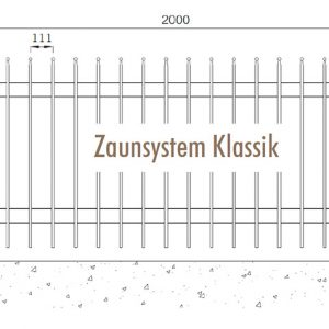 [5391-06] Zaunanlagensystem Klassik